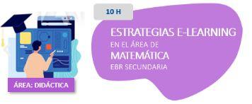 Estrategias E-learning en el Área de Matemática EBR Secundaria