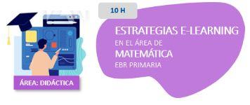 Estrategias E-learning en el Área de Matemática EBR Primaria