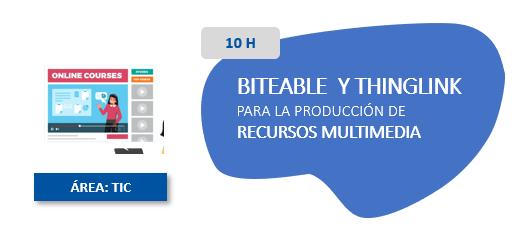 Biteable Thinglink para la produccion de recursos multimedia