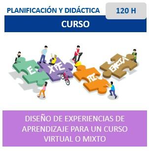 Diseño de Experiencia de aprendizaje para un curso virtual o mixto
