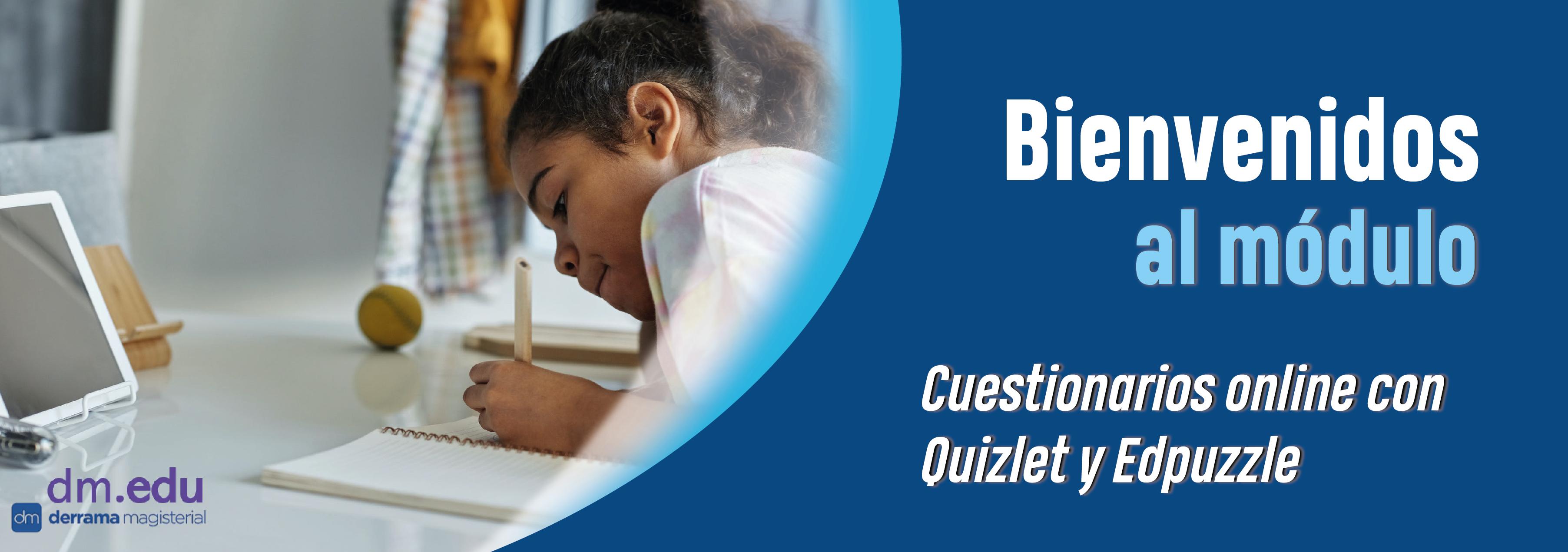 Cuestionarios online con Quizlet y Edpuzzle